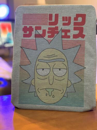 Rick and Morty Bold Japanese T-Shirt Rick Sanchez Japanese Graphic Design Tee