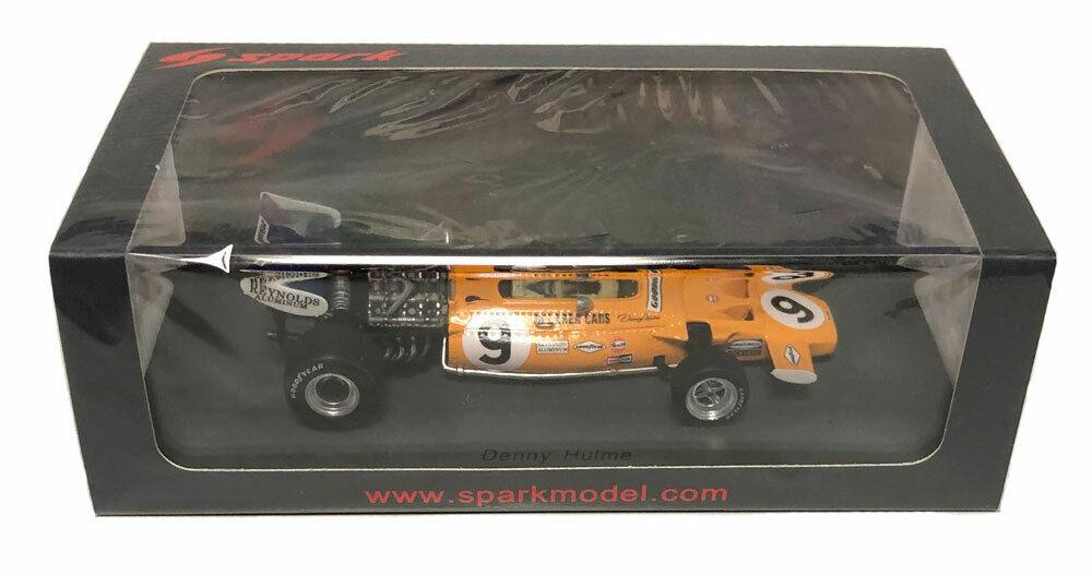 Spark McLaren M19 4th Monaco GP 1971 Denny Hulme échelle 1 43