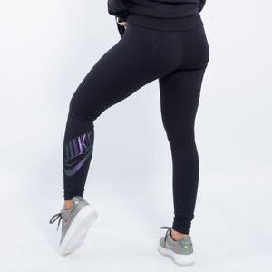 31f7247eb7 Caricamento dell'immagine in corso Nike-Abbigliamento-Sportivo-Donna-Q5- Leggings-M-NERO-