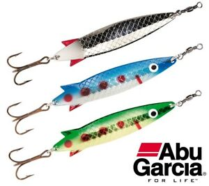 Abu-Garcia-Toby-Spoon-3-Pack-10g-12g-or-18g-Trout-Salmon-Perch-Pike-Lures