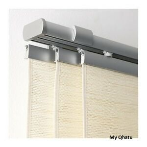 ikea kvartal curtain rail triple 55 ceiling fixture new ebay. Black Bedroom Furniture Sets. Home Design Ideas