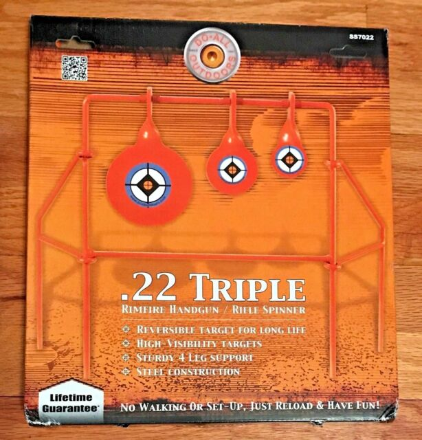DO ALL OUTDOORS -  .22 Triple Rimfire Handgun/Rifle Spinner SS7022 - NEW IN BOX!