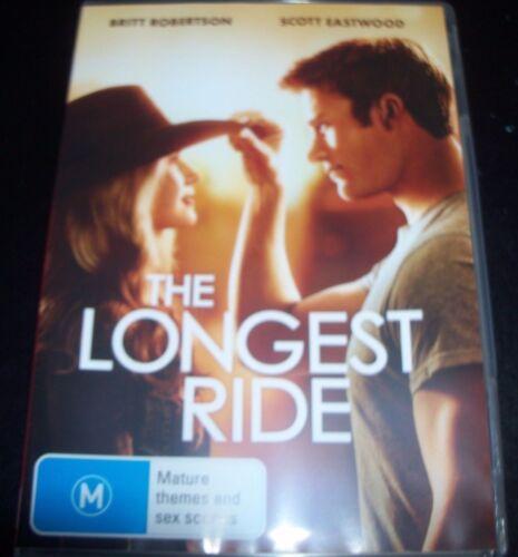 1 of 1 - The Longest Ride (Britt Robertson Scott Eastwood) (Aust Reg 4) DVD - Like New