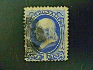 USA 1870 $.01  Franklin #145 Used - See Description & Images