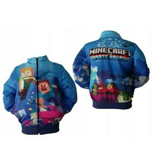 Hoodie Giacca Pullover MINECRAFT NUOVO made UE dimensioni 134 size 134