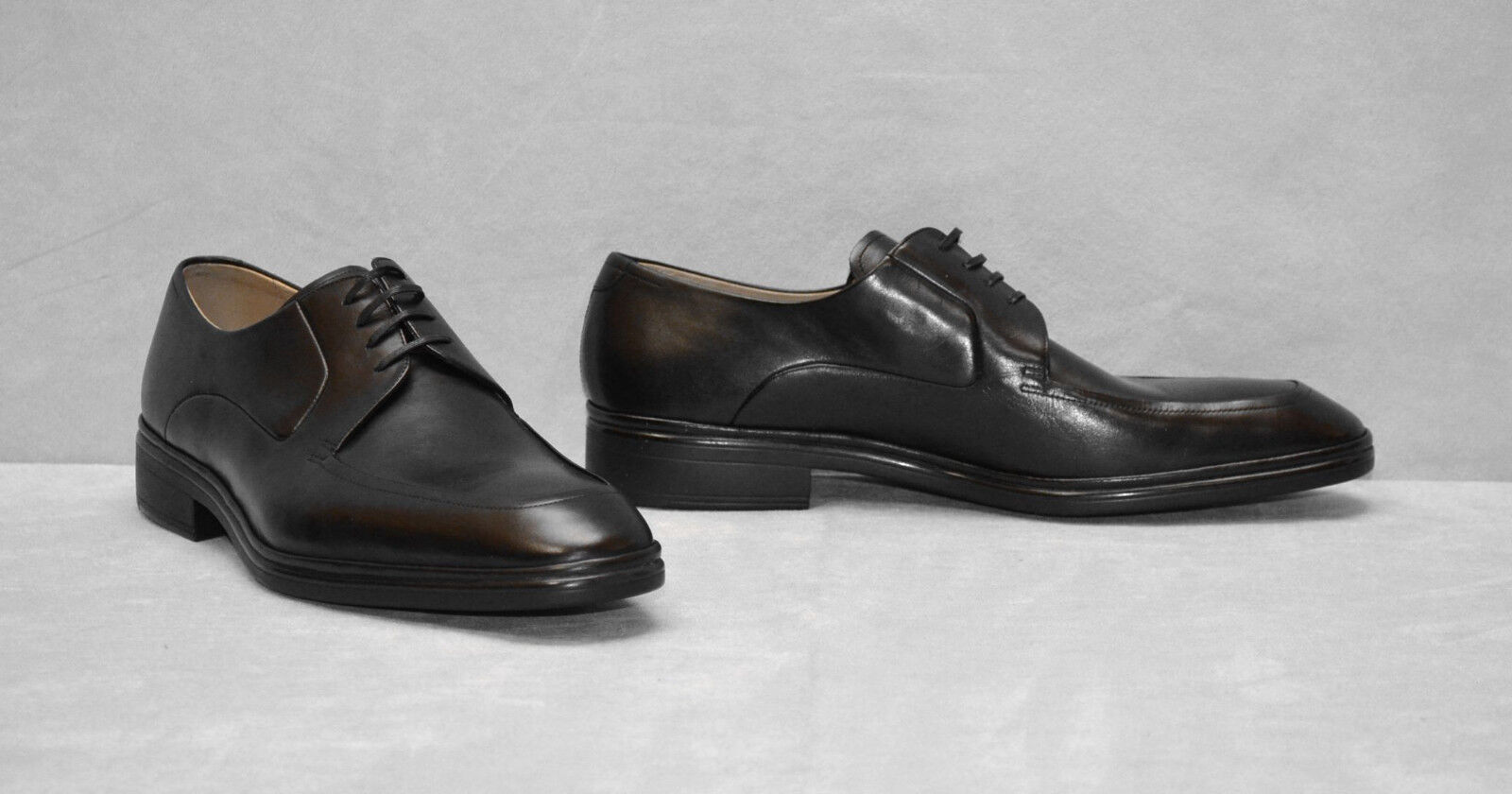 F5 NEW BALLY Newland Black Leather Lace Up Oxfords shoes Size US 11 D  600