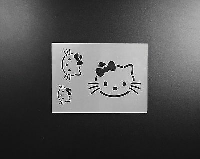 Mickey Mouse Heads Stencil Airbrush Wall Art Craft Disney Characters Reusable