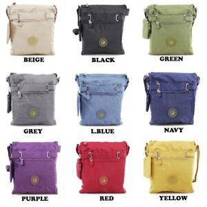 Womens Cross Body Messenger Bag Ladies Waterproof Over Shoulder Work ... 7aa8f74376