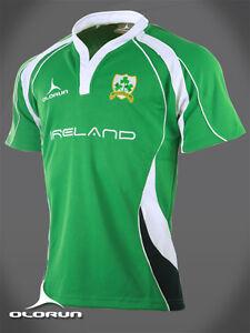 Irish Rugby Supporters Shirt (Green) S-XXXXL