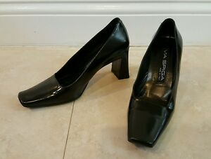 Via Precioso 4 Leather 5m Spiga Pumps Heels Black rwgKr6qa