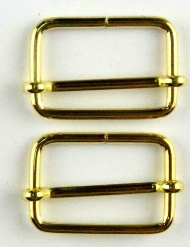 2 jefe hebillas ajustador 30 mm color oro