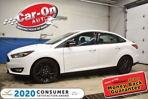 2017 Ford Focus SEL PLUS BLACK PKG | SUNROOF | HEATED SEATS & STEE