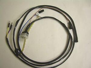 1967 nova chevy ii engine starter wiring harness v8 283 327 ebay rh ebay com