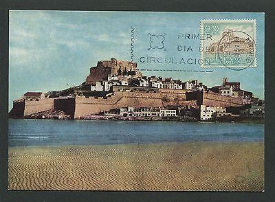 Motive Vorsichtig Spain Mk 1967 Castillo Burg Castle Chateau Maximumkarte Maximum Card Mc Cm D3782 Neueste Technik Briefmarken