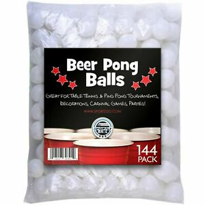 144-Pack-Ping-Pong-Beer-Balls-38mm-Great-For-Table-Tennis-Ping-Tournaments