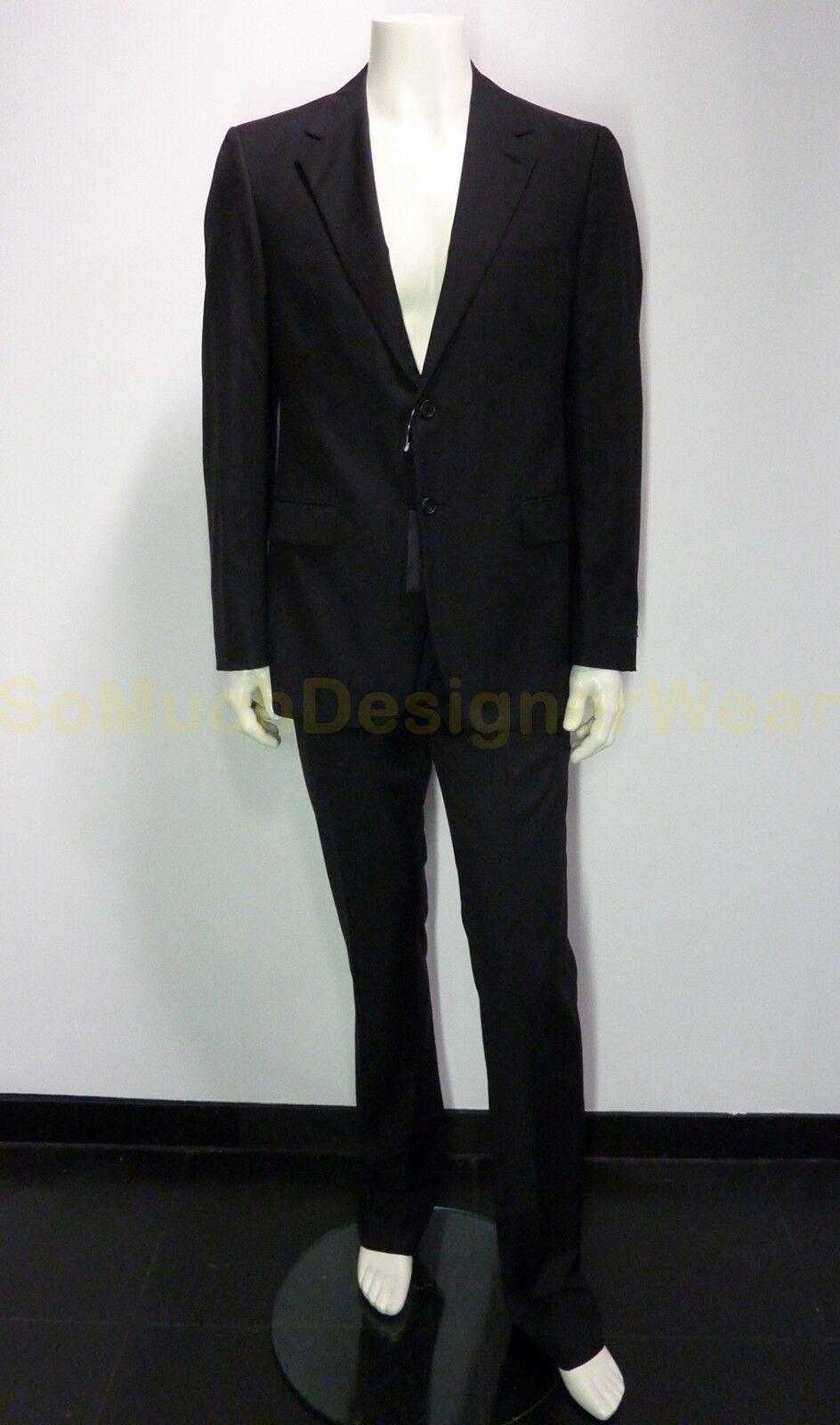 PRADA pak kostuum 52R zwart NIEUW+LABELS np
