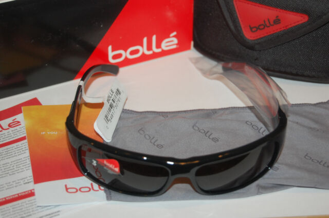 35613904766 bolle adult fierce polarized sunglasses 11940 shiny black tns oleo af 8  base NEW