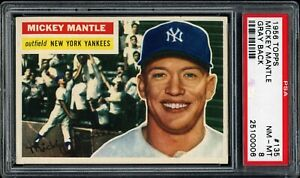 MICKEY-MANTLE-1956-TOPPS-YANKEES-CARD-135-PSA-8-VERY-CLEAN