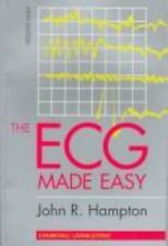 Made Easy: The ECG Made Easy by John R. Hampton and David Adlam (1997,...
