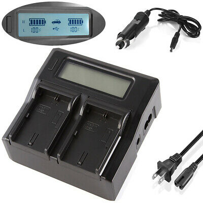 HF M406 Flash Memory Camcorder LCD USB Battery Charger for Canon LEGRIA HF M40 HF M46 HF M41