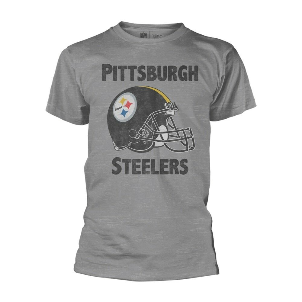 NFL Football League Pittsburgh Steelers Team Official Tee T-Shirt Mens Unisex