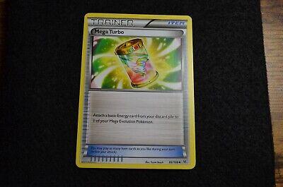 86//108 Uncommon Reverse Holo Roaring Skies Pokemon Near Mint 1x Mega Turbo