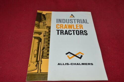 Allis Chalmers H-3 HD-3 Crawler Tractor Dealer's Brochure YABE15