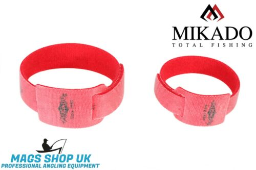 2 Tailles couleur rouge Mikado Rod Velcro Band