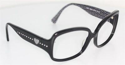 100% QualitäT Coach Hc8027 Scarlett L902 Brille Schwarz/silber Glasses *ohne Gläser / No Lens* Eine GroßE Auswahl An Waren