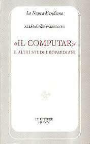 Il computar e altri studi leopardiani
