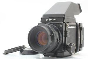 N Nuovo di zecca Mamiya RB67 Pro SD KL 127mm L PRISMA II 6×8 motorizzati DAL GIAPPONE #379