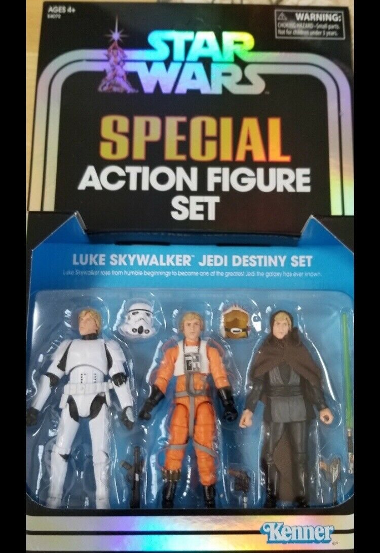 2019 SDCC Comic détenu exclusive Hasbro Star  Wars Sith Trooper & Luke Héritage Combo  vente au rabais