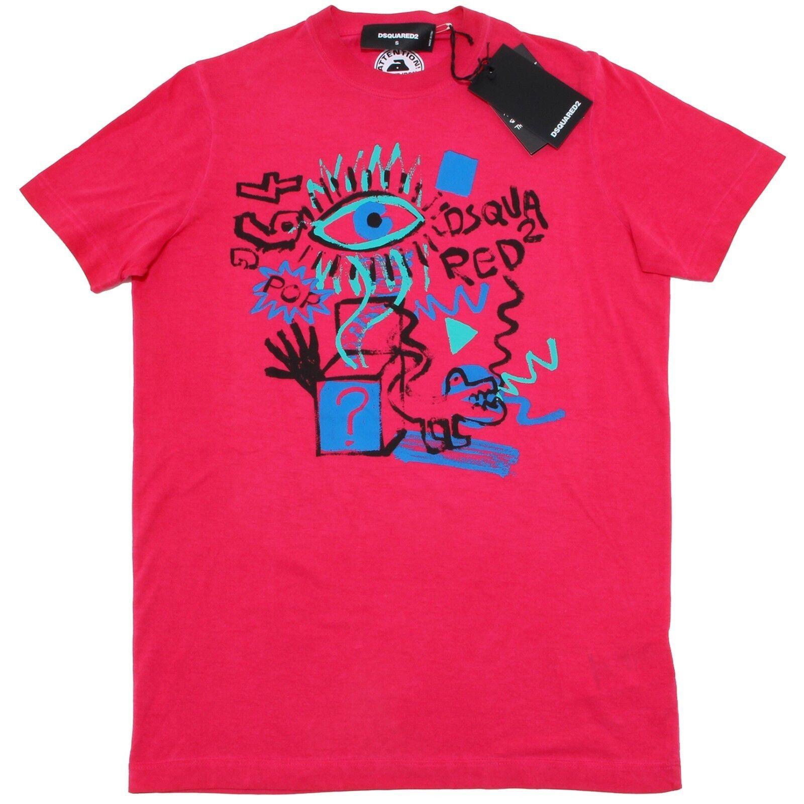 2428L maglia maglia maglia uomo DSQUARED D2 manica corta maglie t-shirts men 8b6133