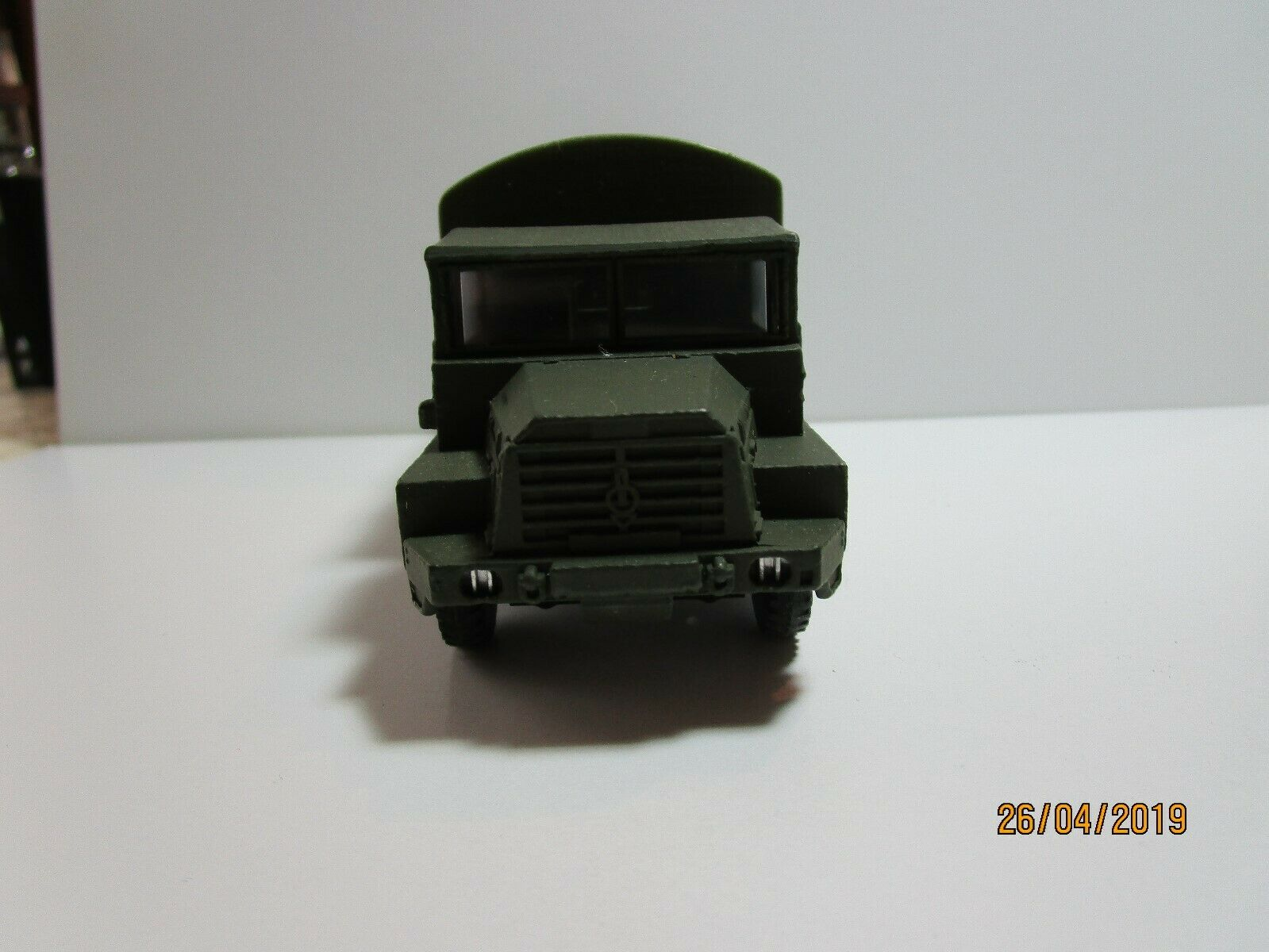 French Dinky toy militaire 824  GAZELLE  BERLIET Armée camion boxed Comme neuf