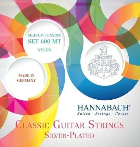 Hannabach 600MT medium tension Nylonsaiten für Konzertgitarre