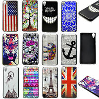 Stylish Skin Hard Plastic Mobile Phone Accessories Case Cover For HTC Desire 820