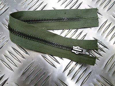 "Zipper H Duty ZPM39 Genuine British Military OPTI 8/"" Closed End Green Zip"