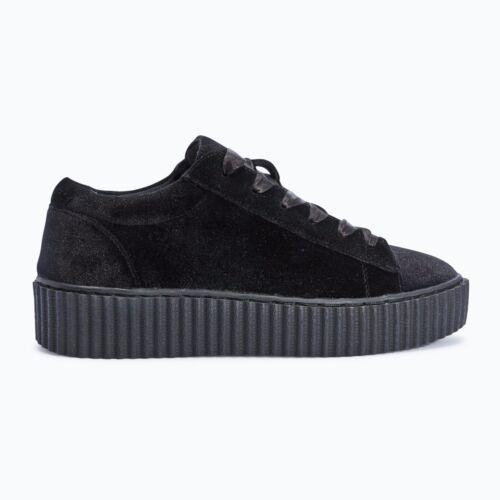 Truffle Creepers Black Velvet Shoes Vegan Ladies 26 Cent FxrFR