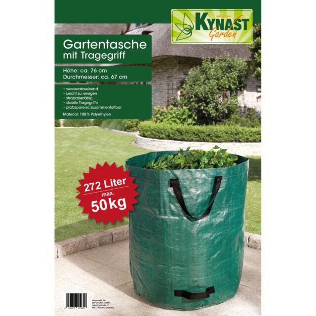 2 x Gartenabfallsack Laubsack Rasensack Abfallsack 272L doppelte Nähte reißfest