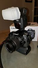 Canon 70D 50mm EF and 18-55mm Lens altura flash 58mm Hoya filter and more
