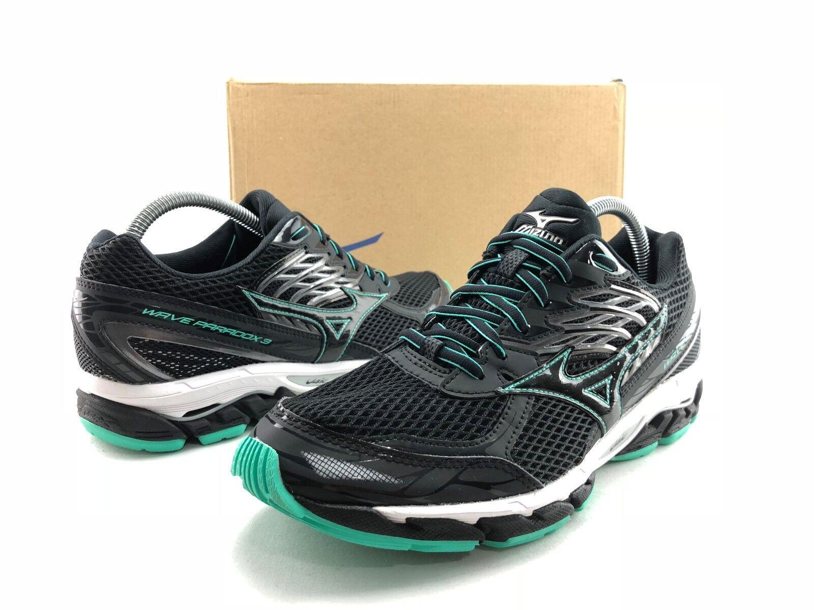 Mizuno Wave Paradox Women's Black Athletic Running Shoes US