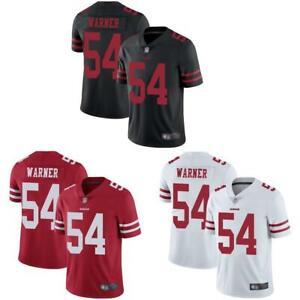 Fred Warner Men Jersey White / Black / Red 49ers | eBay