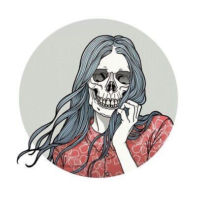 "3"" Heart Shaped Box Skeletons Love Toxic Grunge Music Goth Cool Sticker Skull"