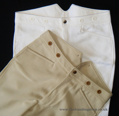 Pour des hommes 38  Regular blanc Breeches  Hunting Eventing Equestrian Riding Showing