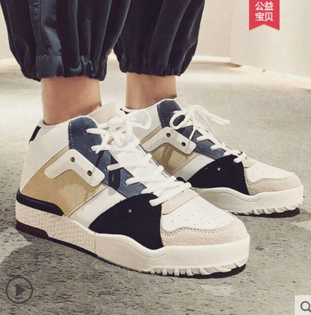 Mens Lace Up Hip-hop Assorted color Fashion Harajuku Style Casual shoes Hot A882