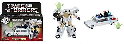 New In Hand Transformers Ghostbusters Ectotron Ecto-1 in stock