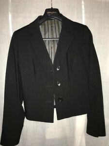 Veste de costume droite Bill Tornade en noir pour vêtements