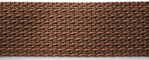 4 m Gurtband 30 mm breit für Taschen Gürtel Leinen 10 verschiedene Farben