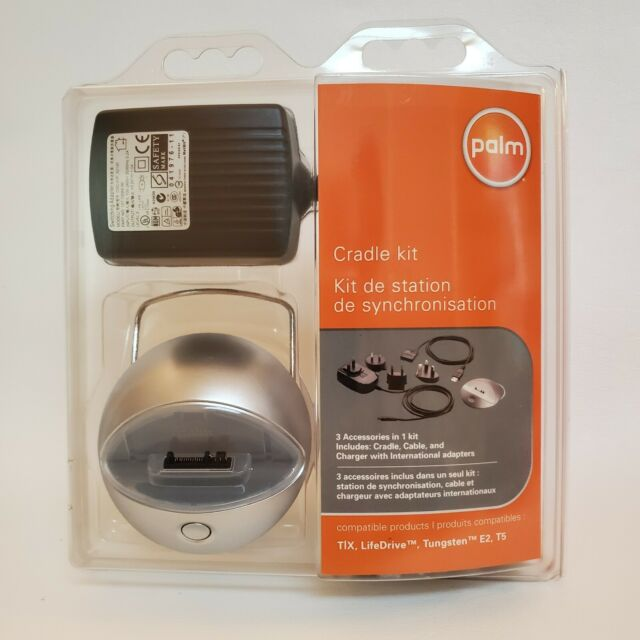 Palm 3199WWZ Cradle Kit for Tungsten E2 T5 T|X and LifeDrive International