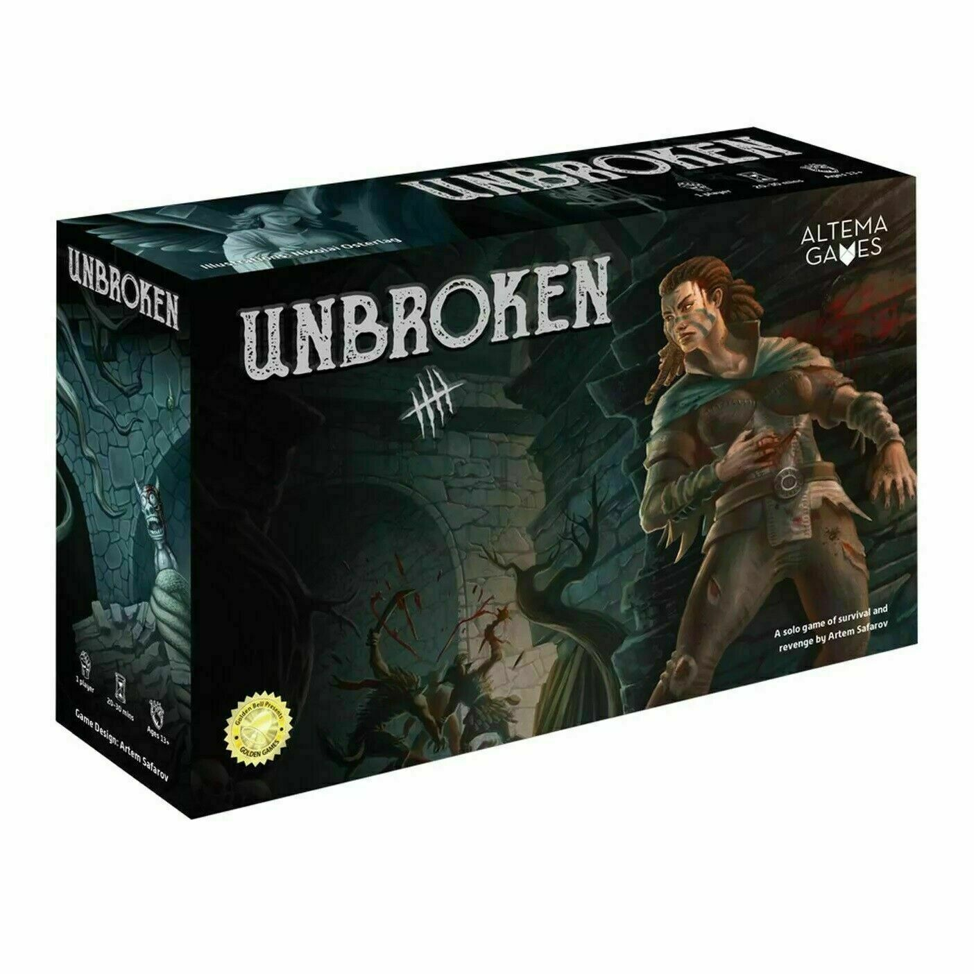 Altema Games  UNBROKEN - A Solo Adventure Game NEW